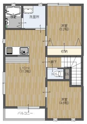 MOMO4平面2階