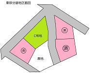 東原分譲地区画図2015.10