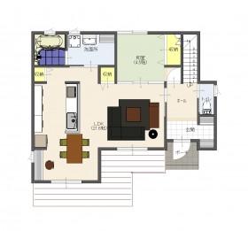 新町セットプラン平面1階